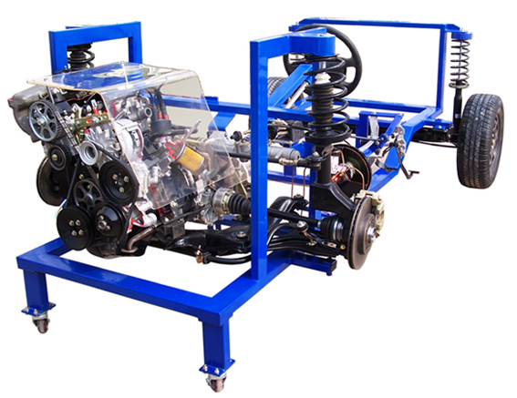 汽车发动机变速器底盘实验台
