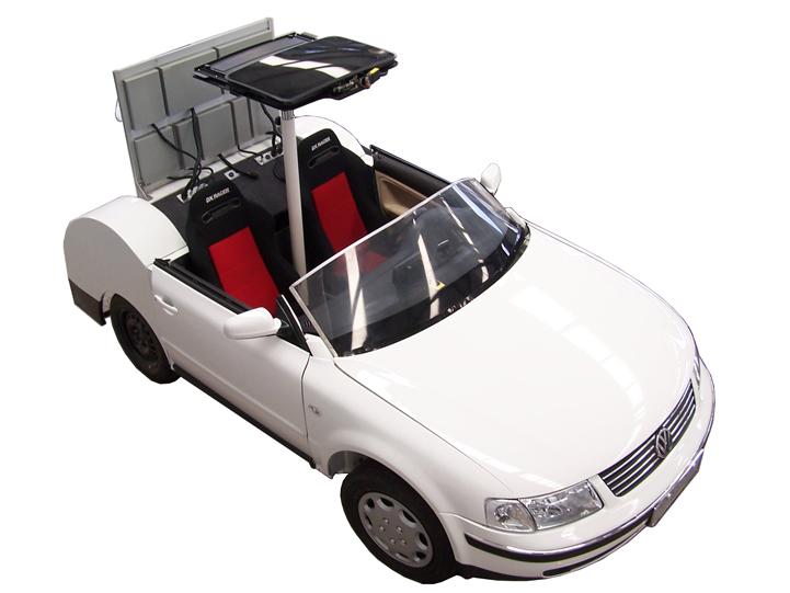 帕萨特B5音响改装车