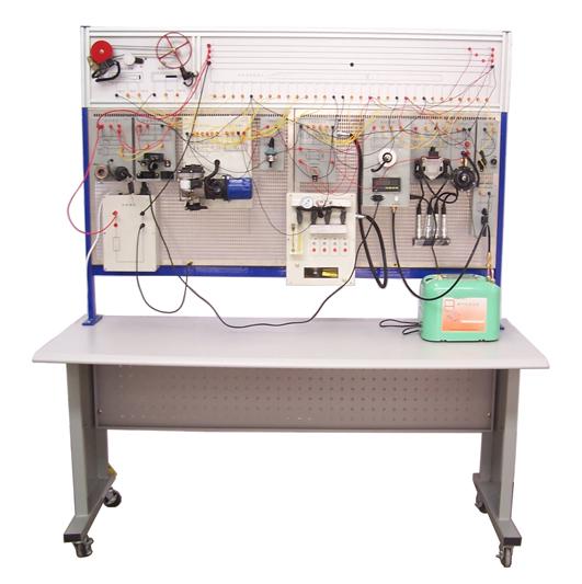 网板汽车电控电器实验台