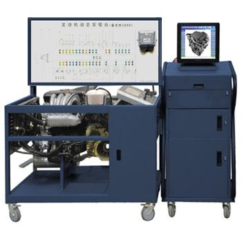 桑塔纳3000发动机多媒体教学实训台