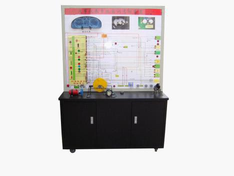 产品简介:汽车仪表防盗系统示教板,选用大众帕萨特仪表防盗系统材料